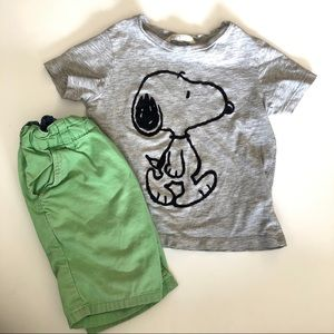 H&M snoopy outfit